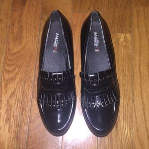 NWOT Vegan Leather Creepers size 10